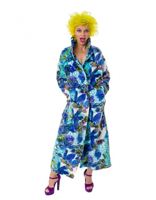 Minky Flowers Overcoat