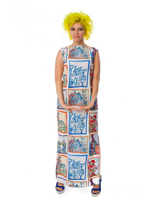 Virginia Bluebell Dress