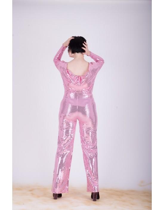 Salopeta Pink & Shiny